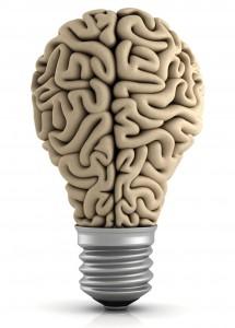 Cerveau éclairé du surdoué